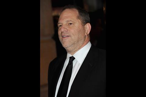 Harvey Weinstein at Blue Valentine